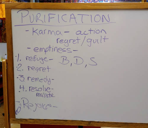 renunciation white board